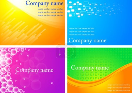 Business cards - eps 10