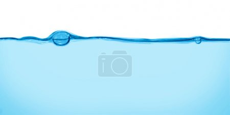 Photo for Water with bubbles in form of heart - Royalty Free Image