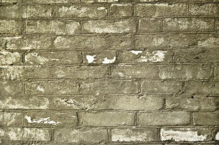 Photo for Old grey brick wall - Royalty Free Image