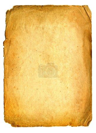 Photo pour Ancienne page papier avec espace pour le texte ou l'image - image libre de droit