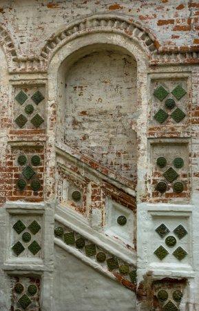 Russian orthodox church wall fragment