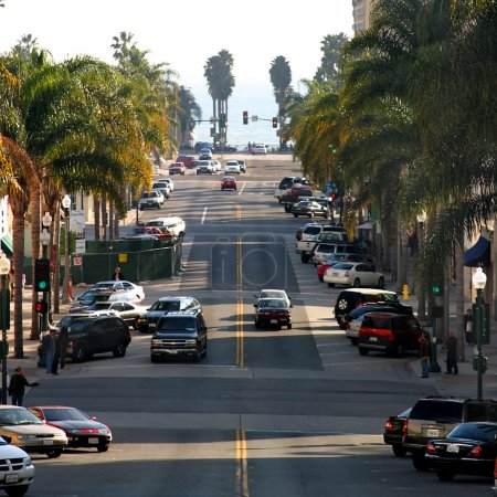 Photo for California street is one of the main streets in Ventura California - Royalty Free Image