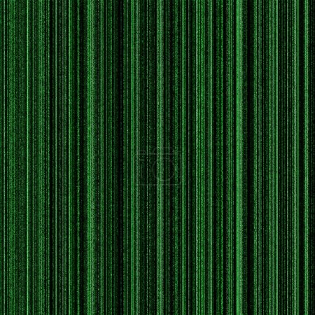 Photo for Matrix green background with neon green columns - Royalty Free Image