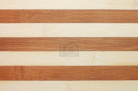 Photo for Striped chopping board background - Royalty Free Image