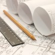 Tools for design on the blueprint...