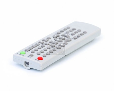 Photo pour Télécommande isolé sur fond blanc - image libre de droit