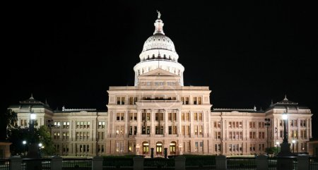 State Capitol Building at Night