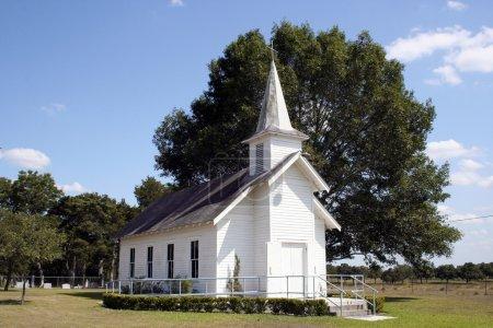 Small Rural Church in Texas