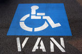 Handicap Van Parking