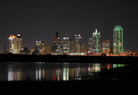 Downtown Dallas, Texas at Night