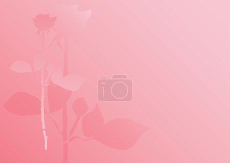 Pastel rose background