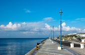 Ormeggio nel porto di mykonos