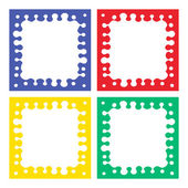 Color frames 4 Pieces (blue red yellow green)