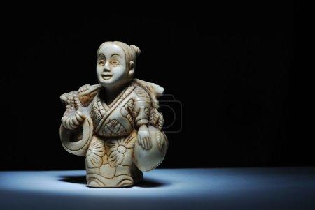 Netsuke miniature sculpture