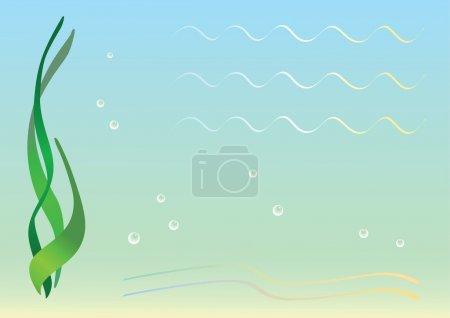 Sea floor.