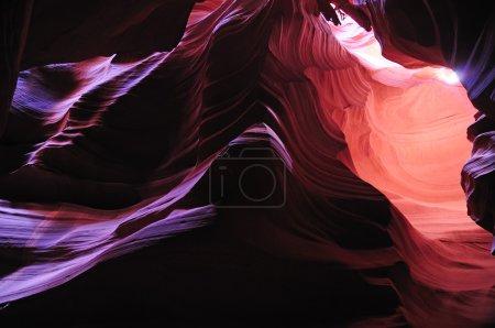Photo pour L'Antelope Slot Canyon, juste à l'extérieur de Page, Arizona - image libre de droit