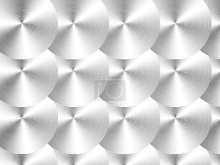 Photo pour Texture métallique noire. Graphiques 2D. Conception informatique. contexte - image libre de droit