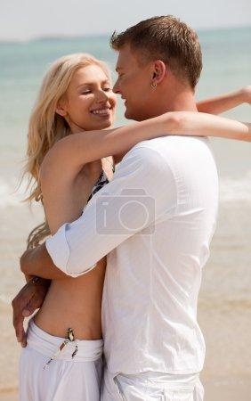 Lovers enjoying life