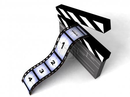 3d film stripes