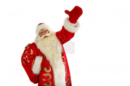 Photo for Christmas Santa Claus . Isolated on white - Royalty Free Image