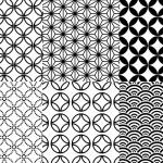 Seamless japanese pattern, vector...