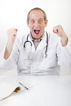 Winning doctor