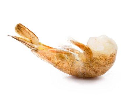 Raw headless shrimp