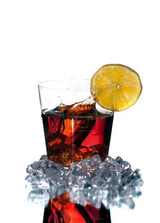 Whisky con limón