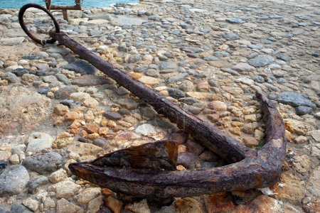 Alter Schiffsanker