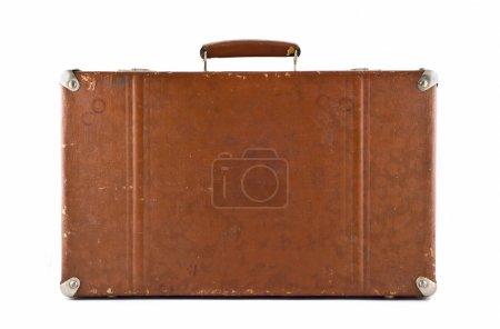 Traveling - old-fashioned suitcase