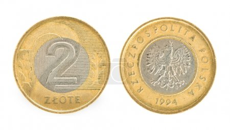 2 zloty - money of Poland