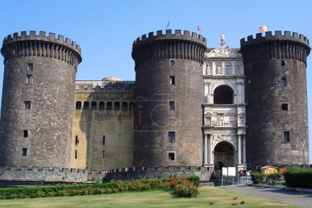 Castle Nuovo, Naples, Italy.