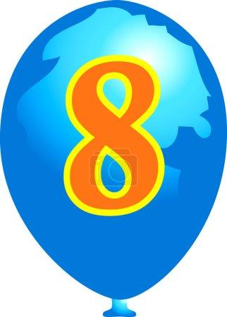 Eight balloon