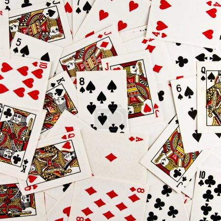 Foto de Jugando a las cartas - Imagen libre de derechos