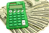 Peníze s kalkulačkou