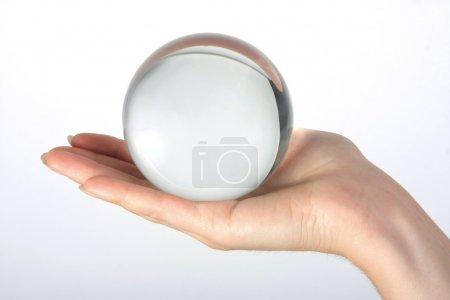 Glass transparent sphere