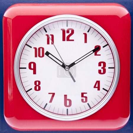 Retro Revival Red Wall Clock