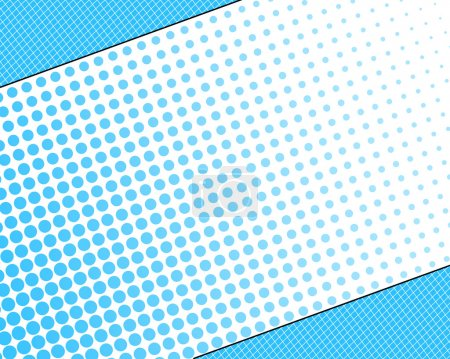 Symmetry halftone background
