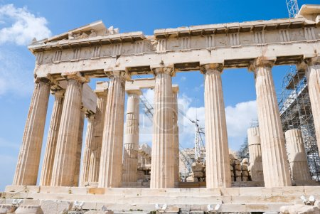 Photo for The Temple of Athena at the Acropolis, Greece, Parthenon - Royalty Free Image