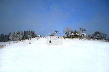 Ski hill in Zakopane, Poland