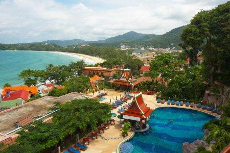 Thailand, phuket island. Aerial view