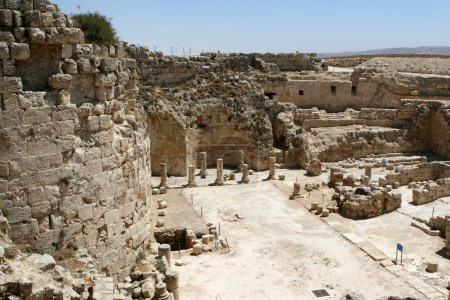 Ruins At Herodian National Park