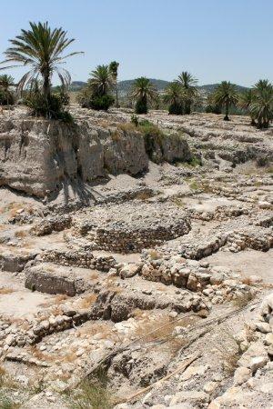 Ruins At Tel Megiddo, Israel