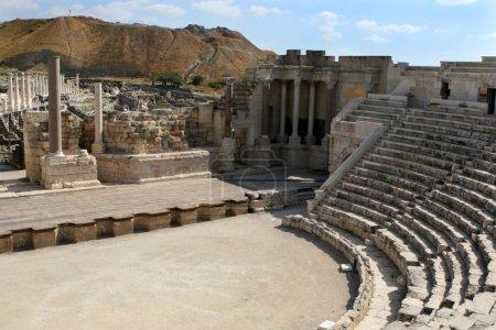 Ancient Ruins Theatre of Beth-Shean