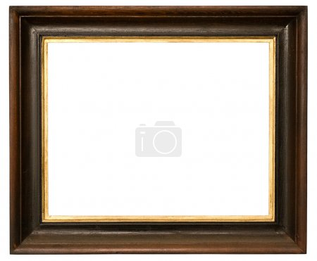 Photo for A picture frame on a white - Royalty Free Image