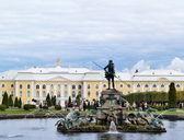 The Grand Peterhof Palace and Neptune