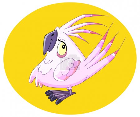 Illustration for Smiley parrot - Royalty Free Image