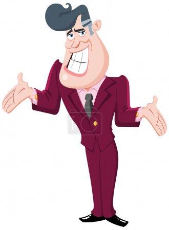 Presenter man