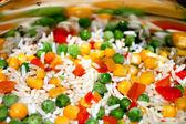 mélange de légumes congelé rapidement