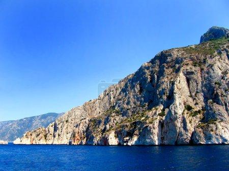 Beautiful Rocky Mediterranean Beach